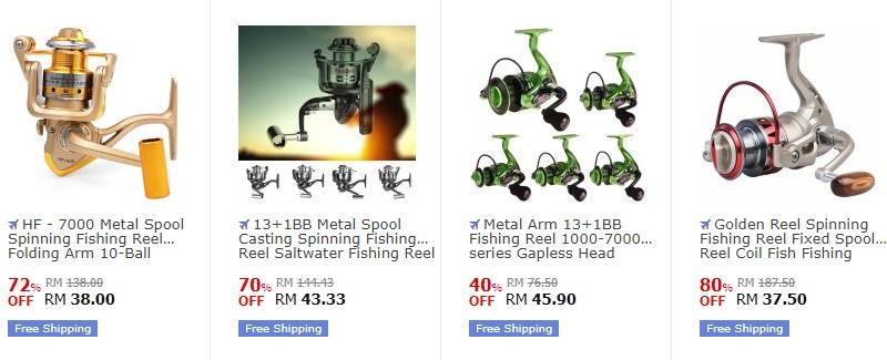 Dapatkan mesin pancing bukan jenis terpakai dan baru di website eCommerce 11street