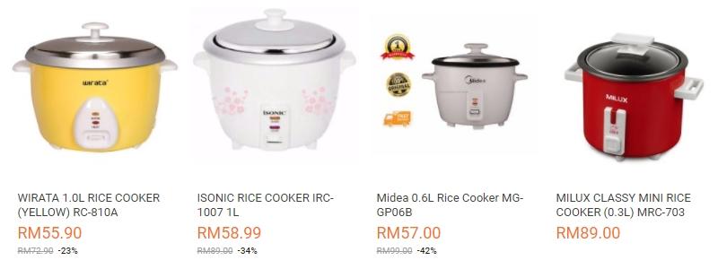 Beli rice cooker mini murah online di Lazada Malaysia