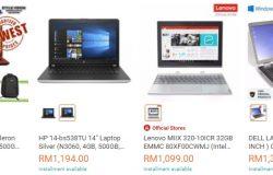 Pilihan laptop bawah rm2000 yang murah sangat banyak di website eCommerce Lazada Malaysia