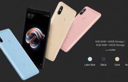 Senarai warna untuk Xiaomi Redmi Note 5 Pro