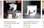 Mini Studio Box Yang Kecil Dan Murah