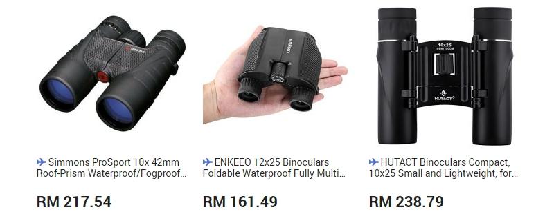 Dapatkan binocular yang bagus di website 11Street Malaysia