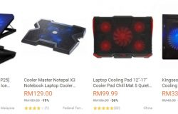 Dapatkan cooling pad untuk laptop notebook di website eCommerce Lazada Malaysia