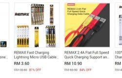 Dapatkan micro usb cable berjenama di website eCommerce 11Street Malaysia