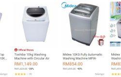 Kapasiti besar adalah satu faktor utama ketika membeli mesin basuh yang sesuai