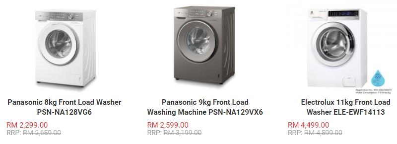 Mesin basuh jenis front load dikatakan mencuci pakaian dengan lebih bersih