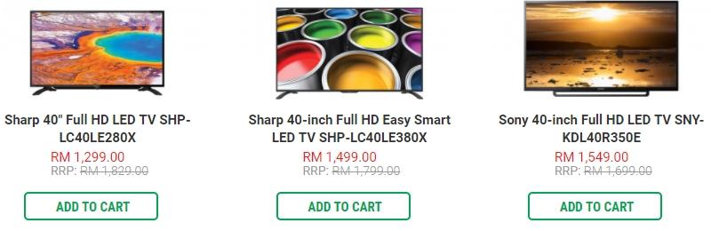 TV LED yang bagus juga boleh anda beli melalui website Senheng Malaysia