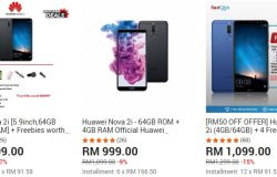 Tawaran harga Huawei Nova 2i paling murah di website 11Street Malaysia