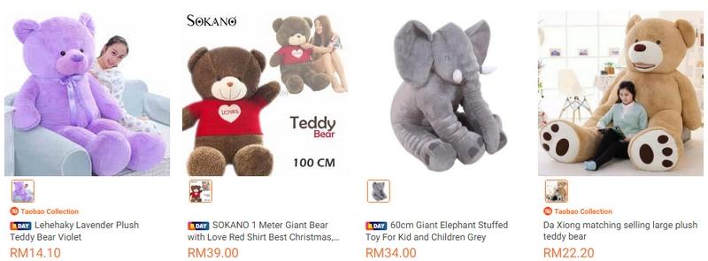 Anak patung teddy bear adalah salah satu hadiah hari guru yang boleh diberi
