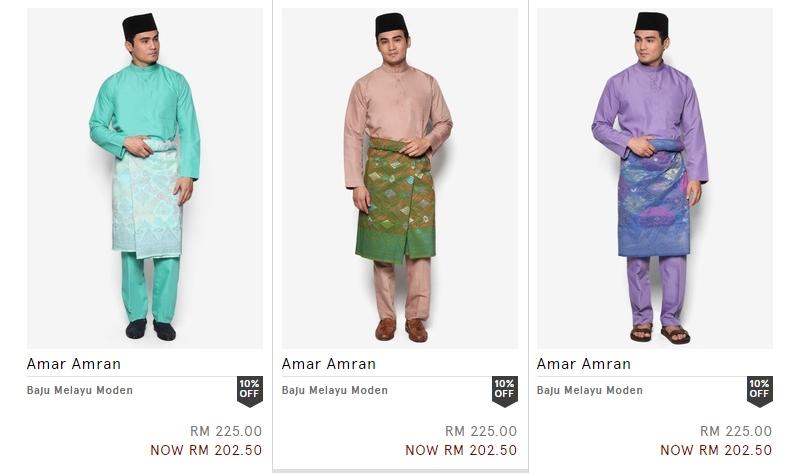 Dapatkan baju melayu lelaki cekak musang yang berkualiti di Zalora Malaysia