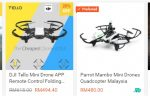 Drone Quadcopter Murah Bawah RM500