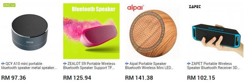 Speaker mini jenis bluetooth yang terbaik di website 11Street Malaysia