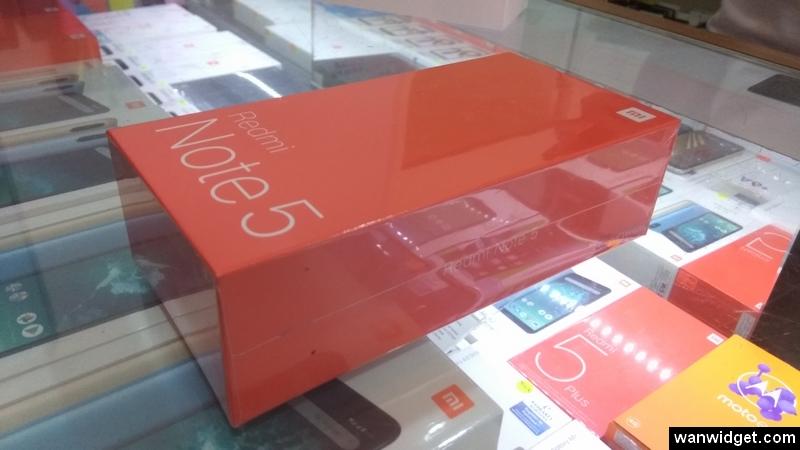 Unboxing Xiaomi Redmi Note 5