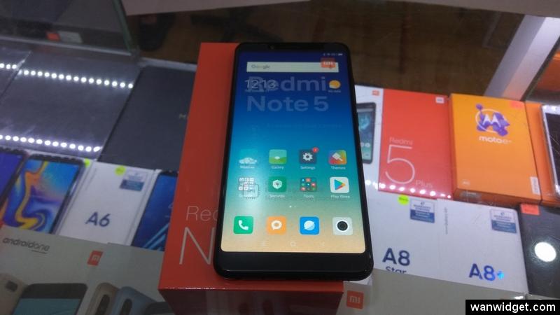 Xiaomi Redmi Note 5 Keluar Dari Kotak