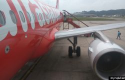 Pengalaman pertama kali naik kapal terbang AirAsia
