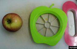 alat pemotong buah buahan sepert apel