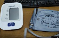 alat pengukur tekanan darah jenama Omron